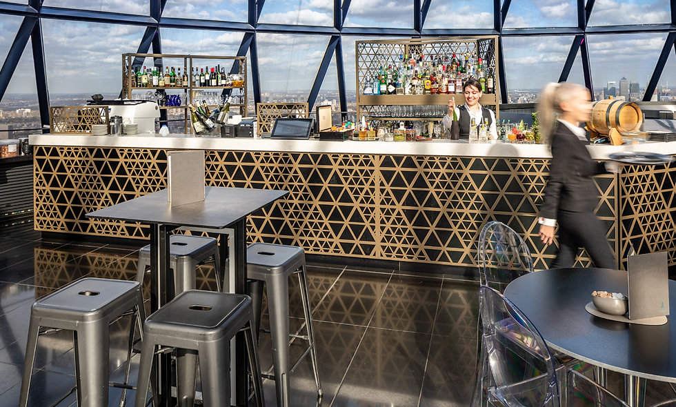Cocktails for Two at Londons Iconic Gherkin