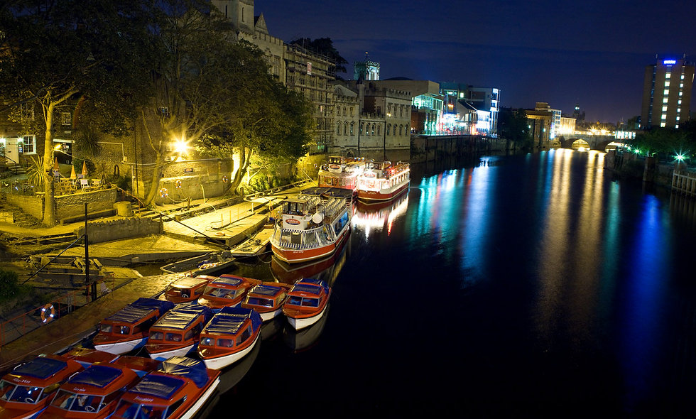City of York Floodlit Evening River Cruise with Prosecco