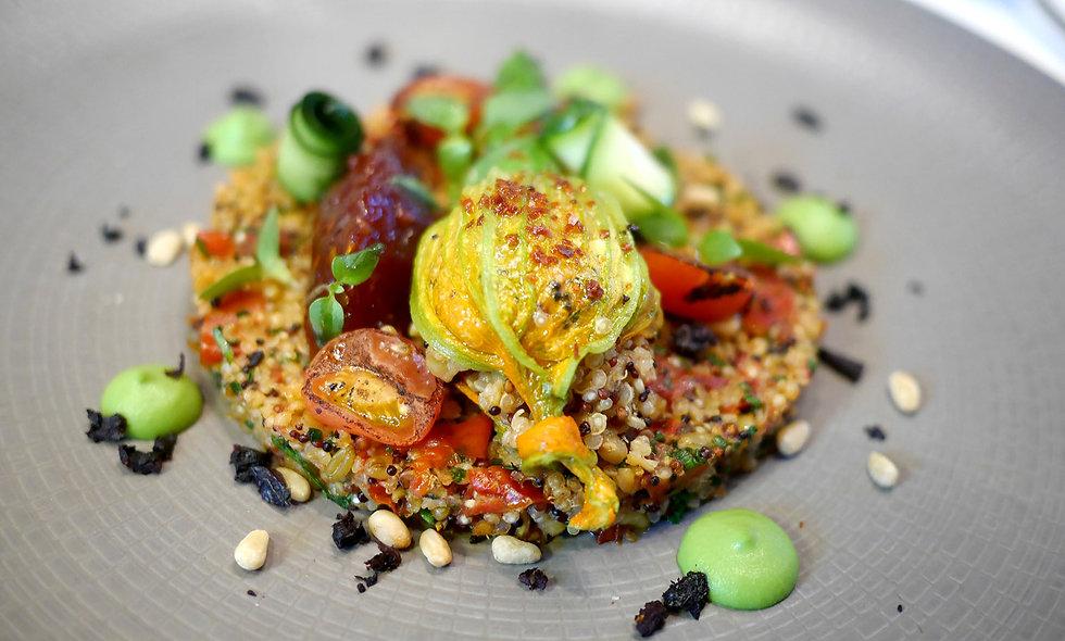 Seven Course Vegan Menu Gourmand for Two
