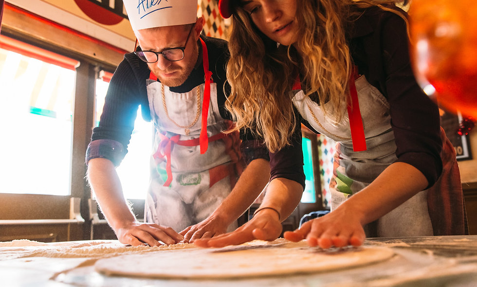 Pizza Making Class with Cocktail for Two at BungaTINI, Covent Garden
