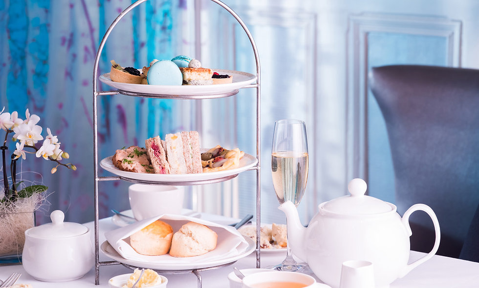 Champagne Afternoon Tea for Two at Alexander House Hotel