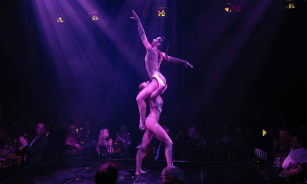 Proud Cabaret Embankment Show Entry with Three Course Meal