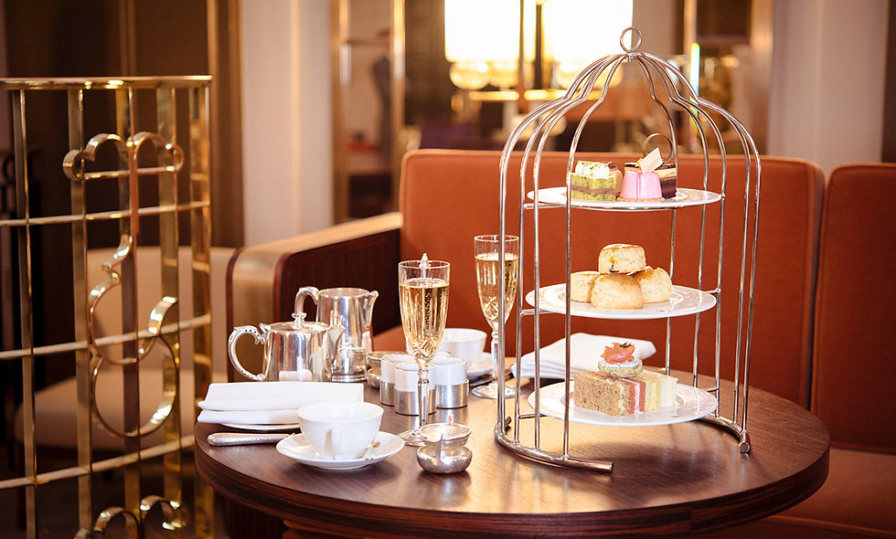 Signature Bird Cage Champagne Afternoon Tea for Two at the Sheraton Grand