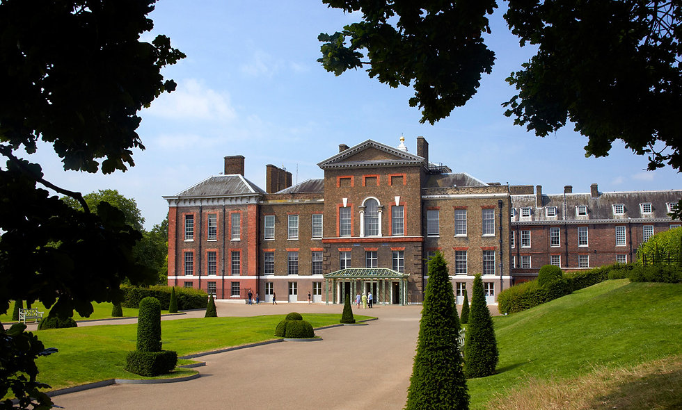 Visit to Kensington Palace and Champagne Afternoon
