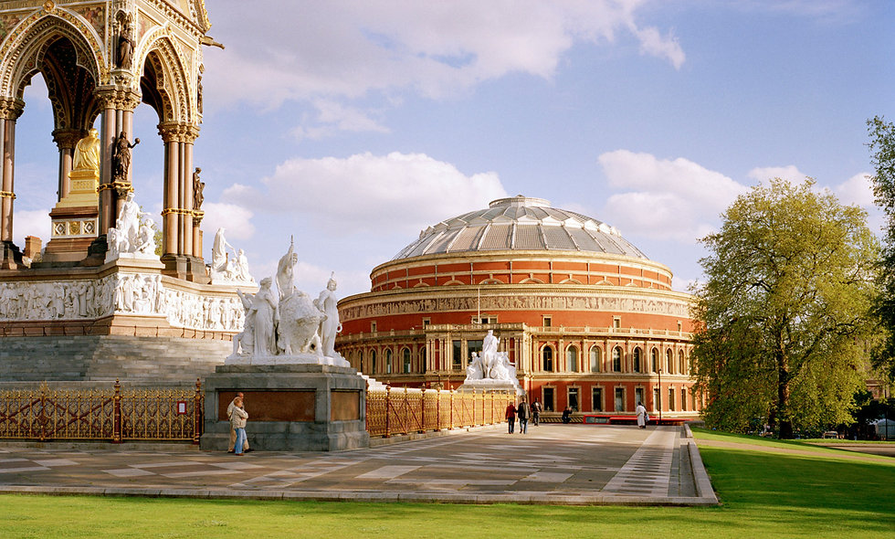 Royal Albert Hall Tour and Light Afternoon Tea for Two