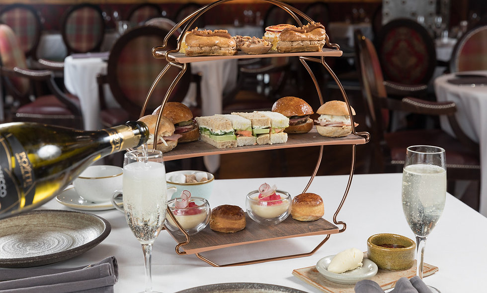 Free-Flowing Prosecco Afternoon Tea for Two at Jam