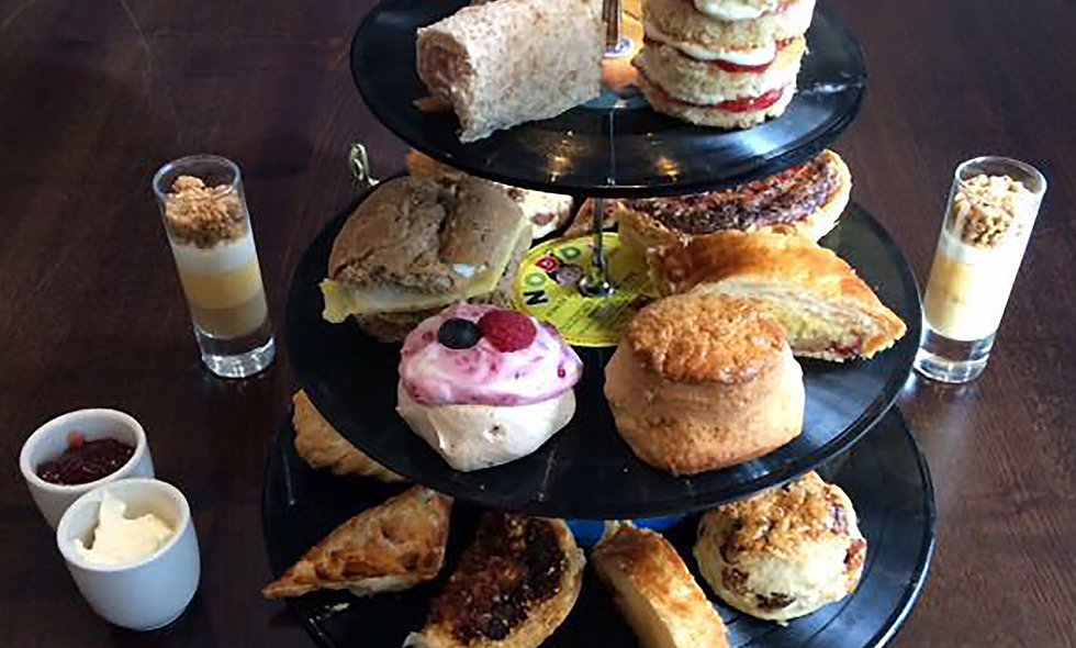 Jailhouse Rock Champagne Afternoon Tea for Two. Couthouse Hotel, London