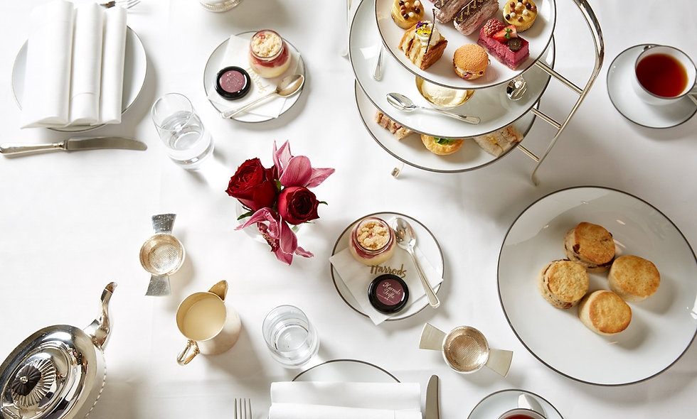Afternoon Tea for Two at The Harrods Tea Rooms