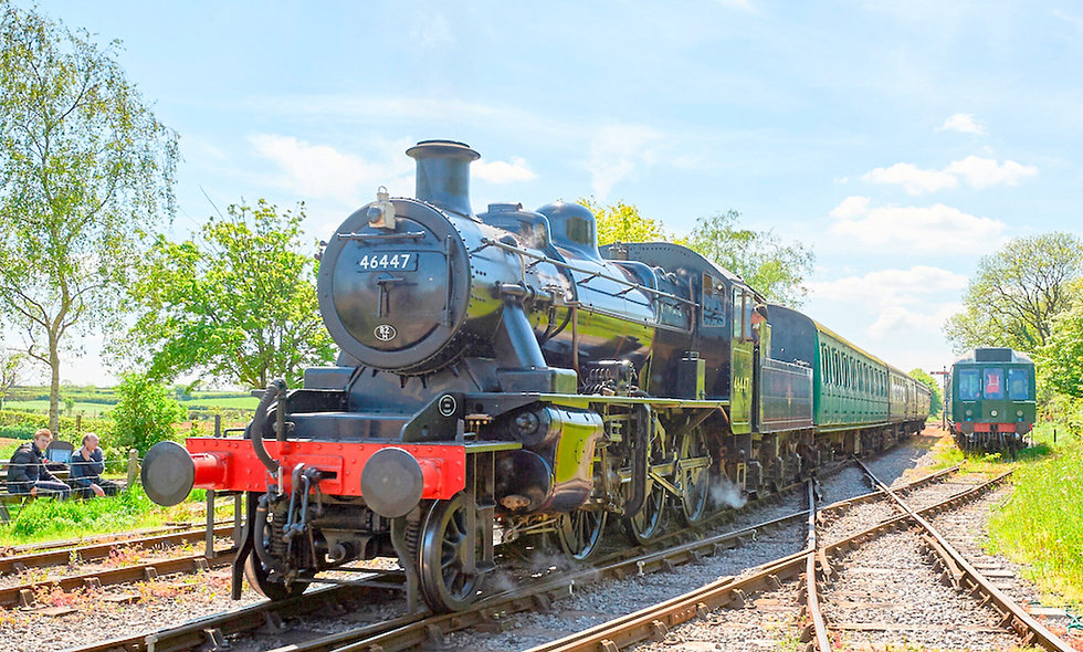 Family Steam Train Trip with East Somerset Railway