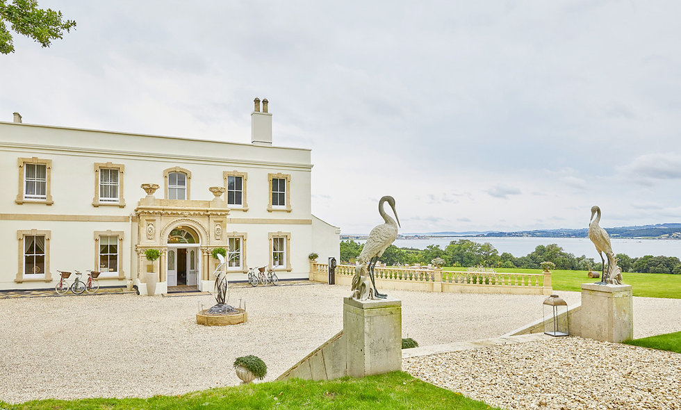 Overnight Stay with a Michelin Eight Course Tasting Menu at Lympstone Manor