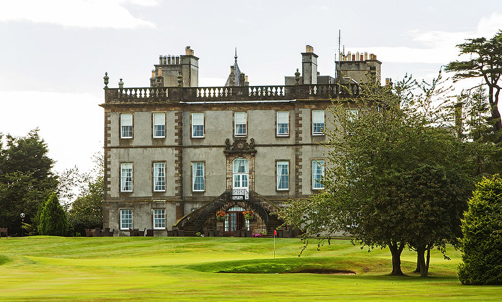 One Night Scottish Break with Dinner for Two at the Dalmahoy hotel