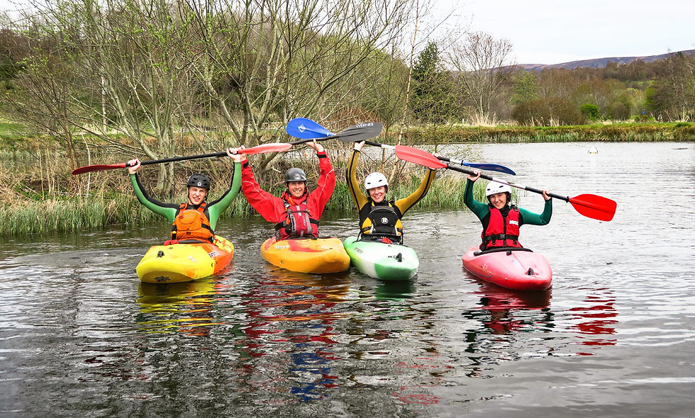 Discover Kayaking for Two in the Cairngorms Nation