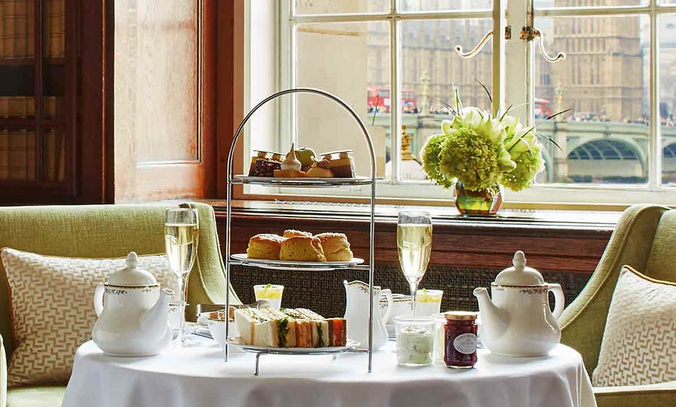 Free-Flowing Bubbles Afternoon Tea for Two at The