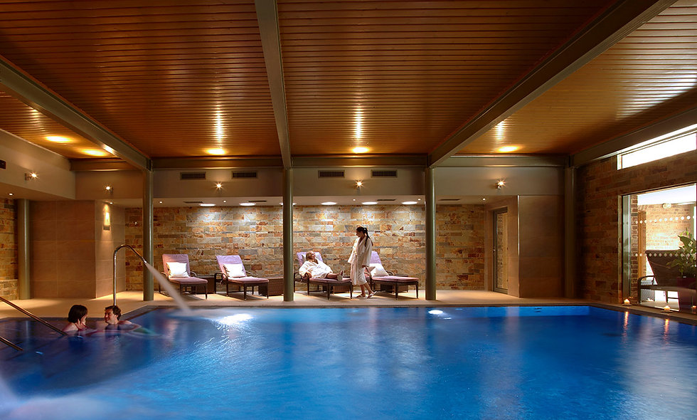 Spa Day with Champagne Lunch for Two at the Luxury Greenway Hotel