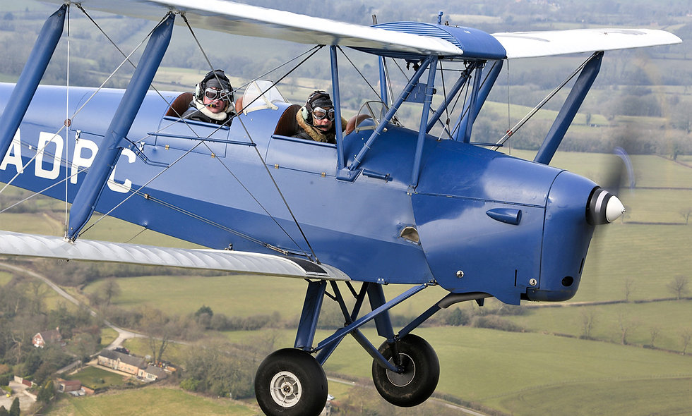 30 minute Tiger Moth Trial Lesson