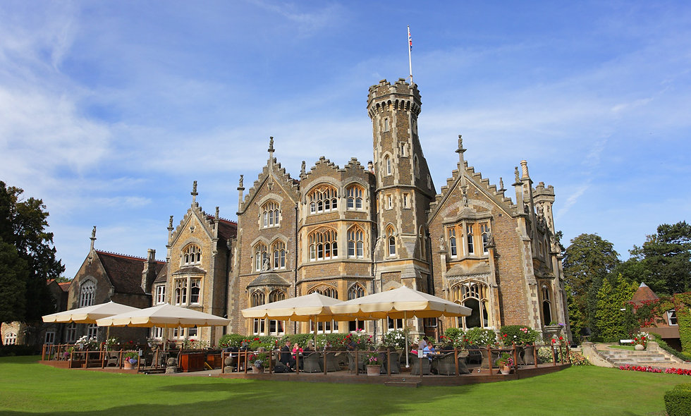 One Night Luxury Riverside Escape with Dinner at The Oakley Court