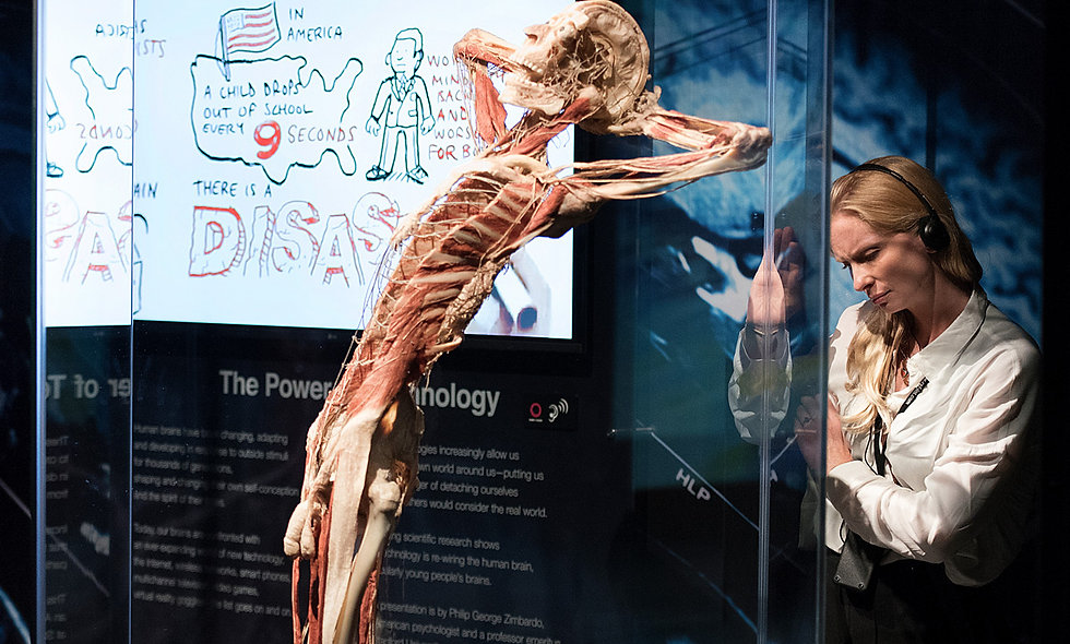 Visit to BODY WORLDS London Museum Experience for Two