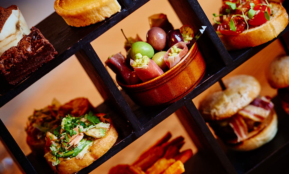Italian Afternoon Tea for Two at Marco Pierre Whit