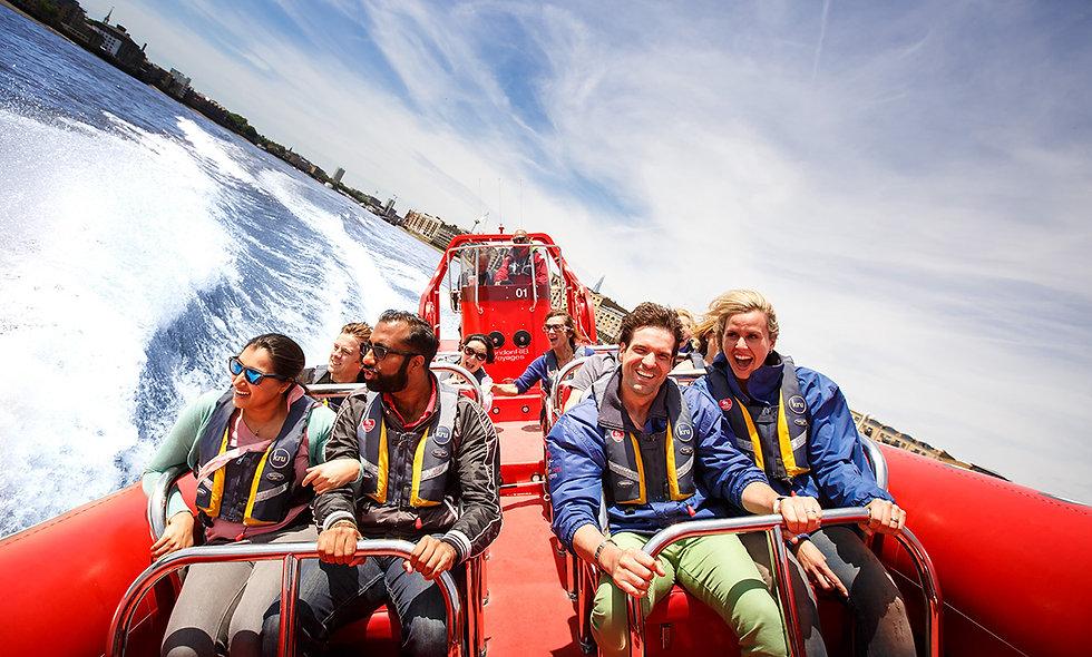 Thames Rocket Ultimate London Speedboat Adventure