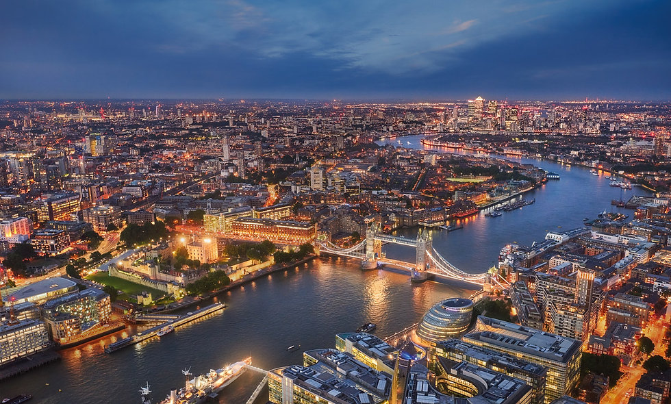 The View from The Shard and Three Course Dinner for Two