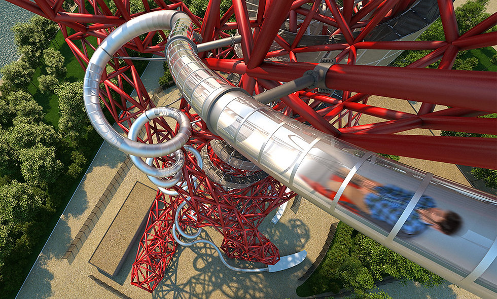 Skyline Views and The Slide at The ArcelorMittal Orbit