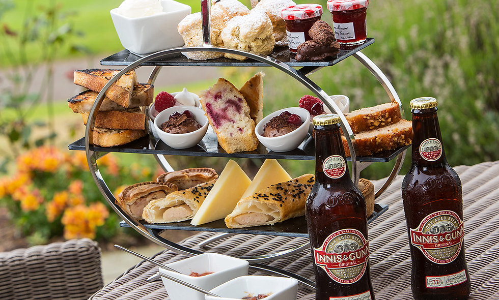 Gentlemans Afternoon Tea for Two at the Dalmahoy