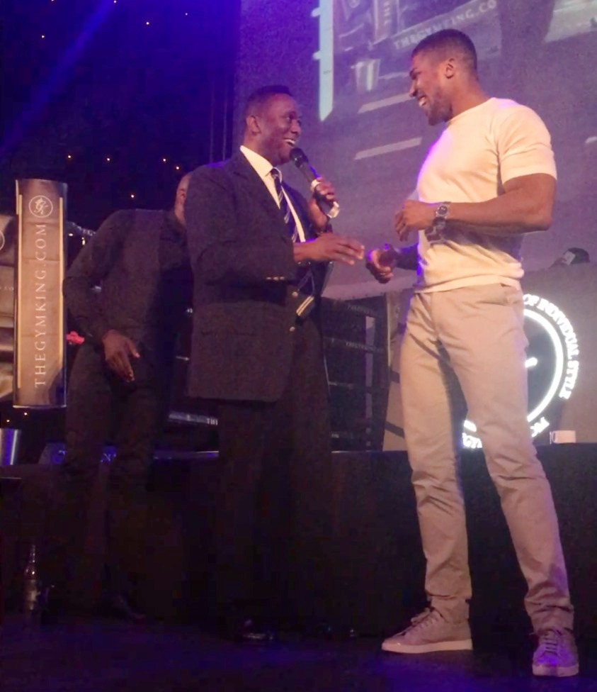 Harold Interviewing Anthony Joshua