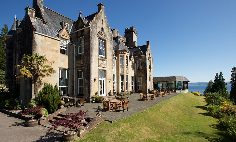 One Night Scottish Escape with Dinner for Two at Stonefield Castle