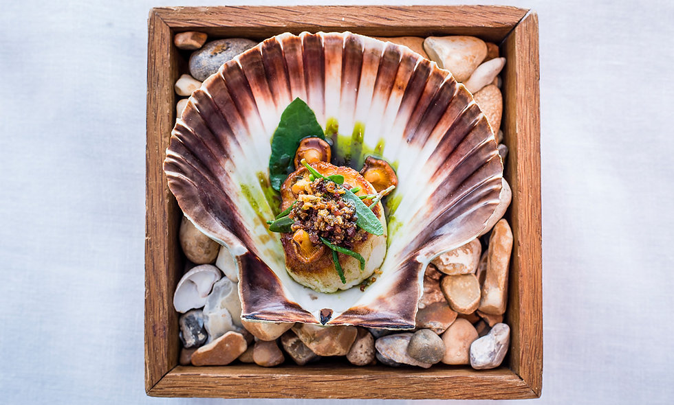 Three Course Michelin-Starred Champagne Lunch at Angler Restaurant