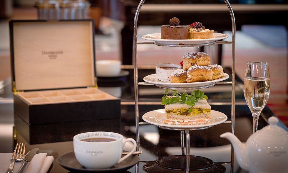 Afternoon Tea with Prosecco for Two at The Portman