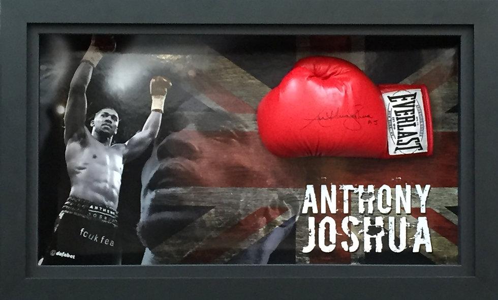 Anthony Joshua Signed Glove