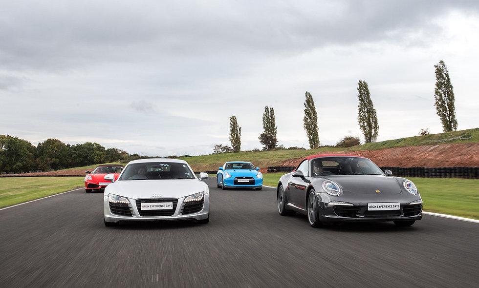 Four Supercar Thrill