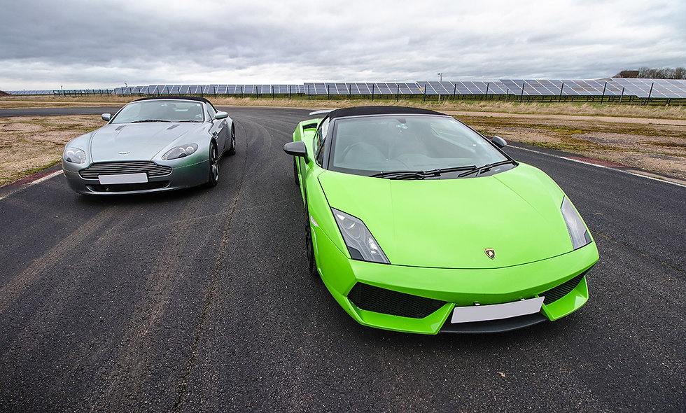 Double Supercar Thrill plus High Speed Passenger Ride