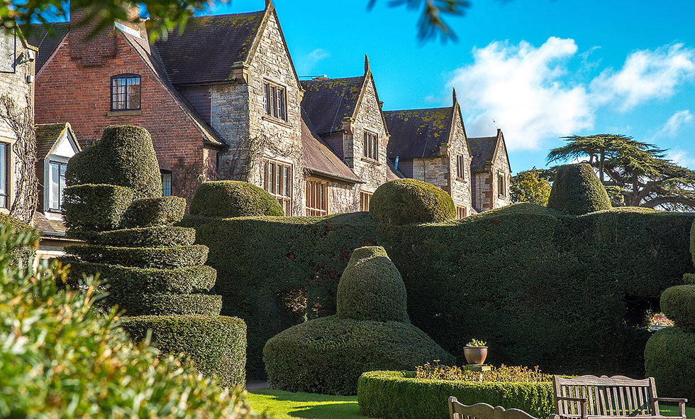 One Night Break for Two at the Historic Billesley Manor