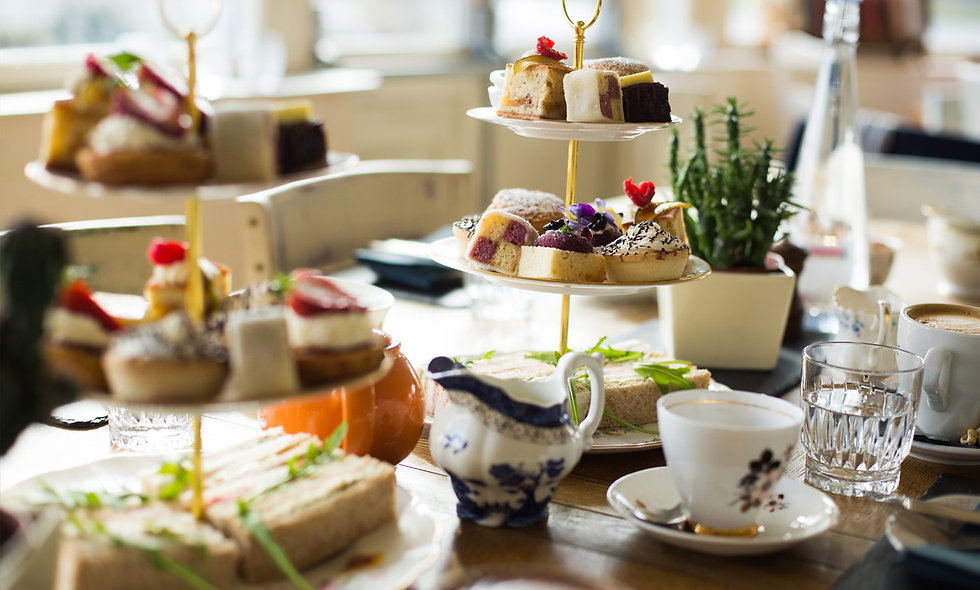 Gin and Afternoon Tea for Two at The Vicarage Free
