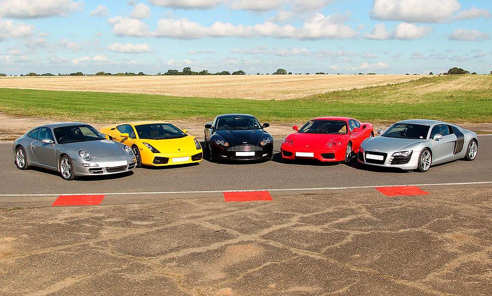 Five Supercar Driving Experience at Goodwood Motor Circuit