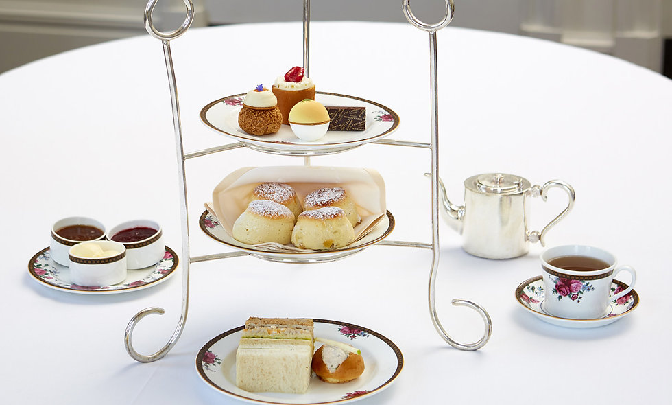 SeasonaliTea Afternoon Tea for Two at the Famous 5