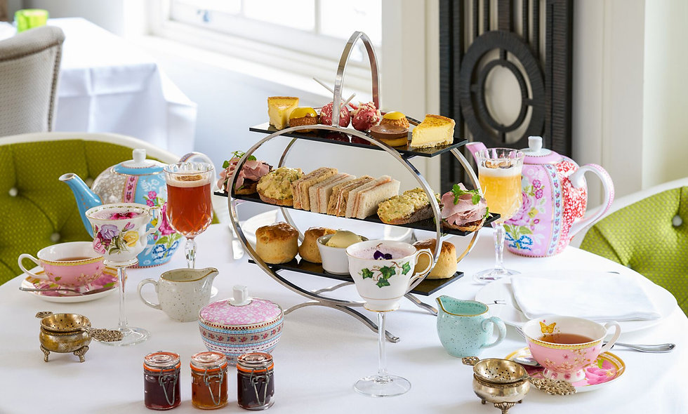 Gin and Jam Afternoon Tea with Cocktail Masterclass