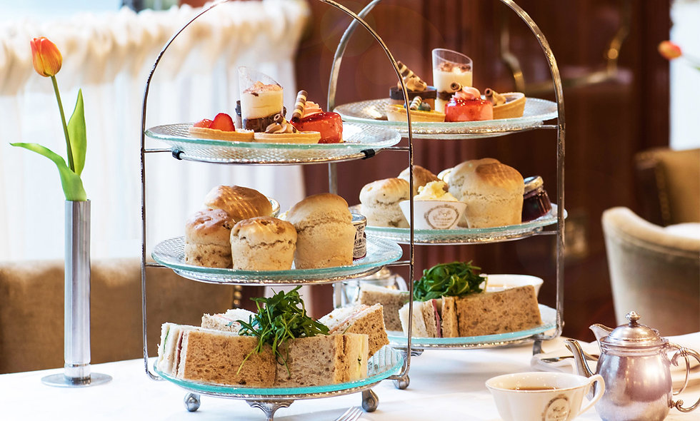 Afternoon Tea for Two at Caff' Concerto, London
