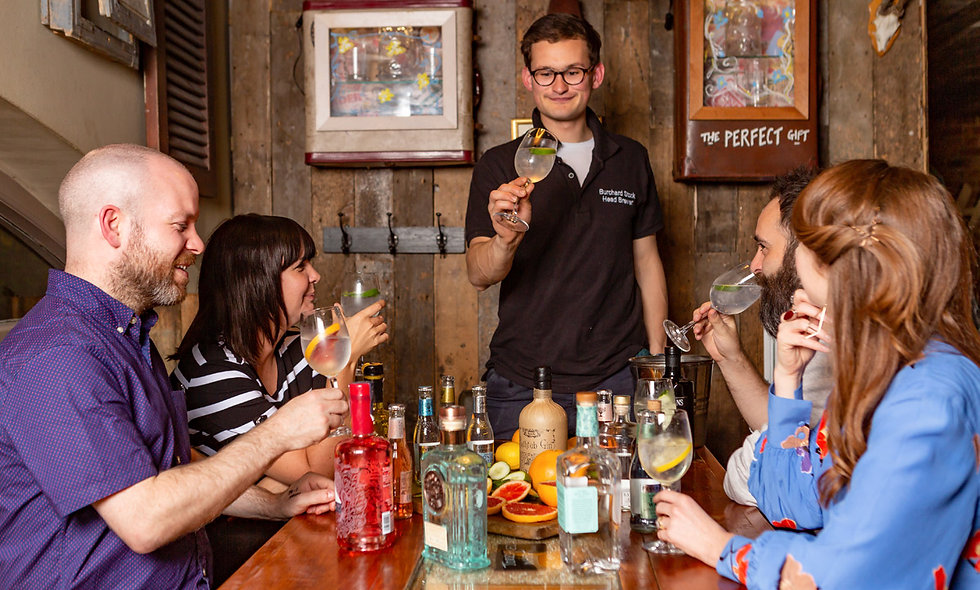 Gin Lovers Masterclass with Tastings for Two