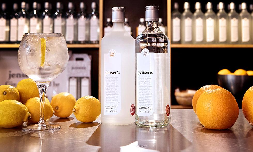 Jensens Gin Experience at Bermondsey Distillery