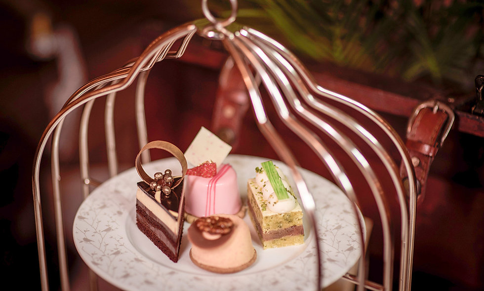 Signature Bird Cage Afternoon Tea for Two at the 5