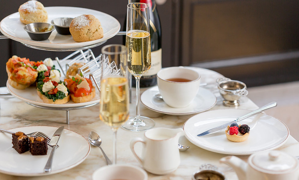 Sparkling Afternoon Tea for Two at Monmouth Kitche