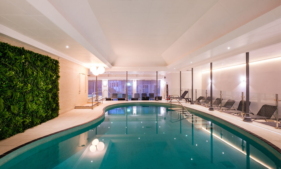 Spa Relaxation and Champagne Afternoon Tea for Two
