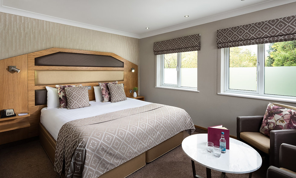 One Night Spa Break with Dinner for Two at Fairlawns Hotel
