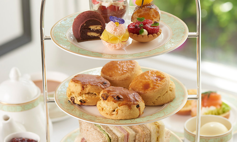 Afternoon Tea for Two at The Park Room, at the Lux
