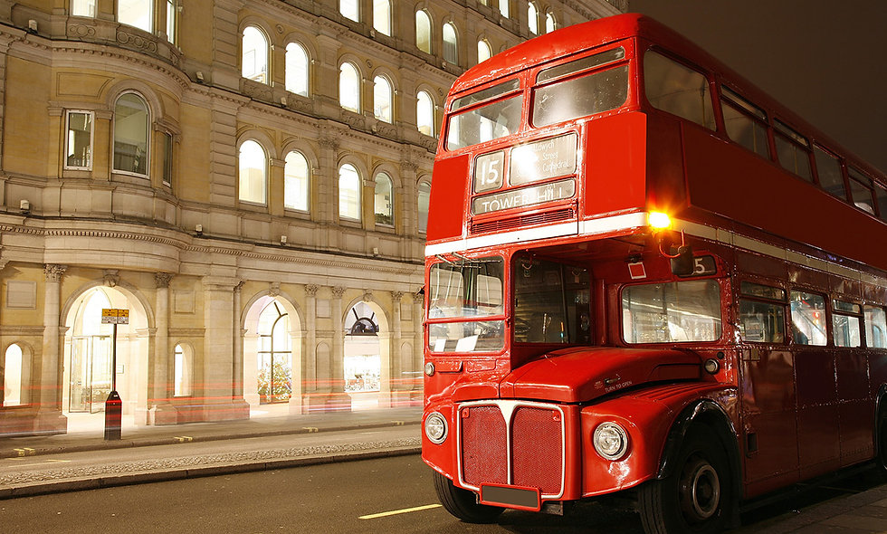 A Vintage Red London Bus Tour, Coca-Cola London Eye