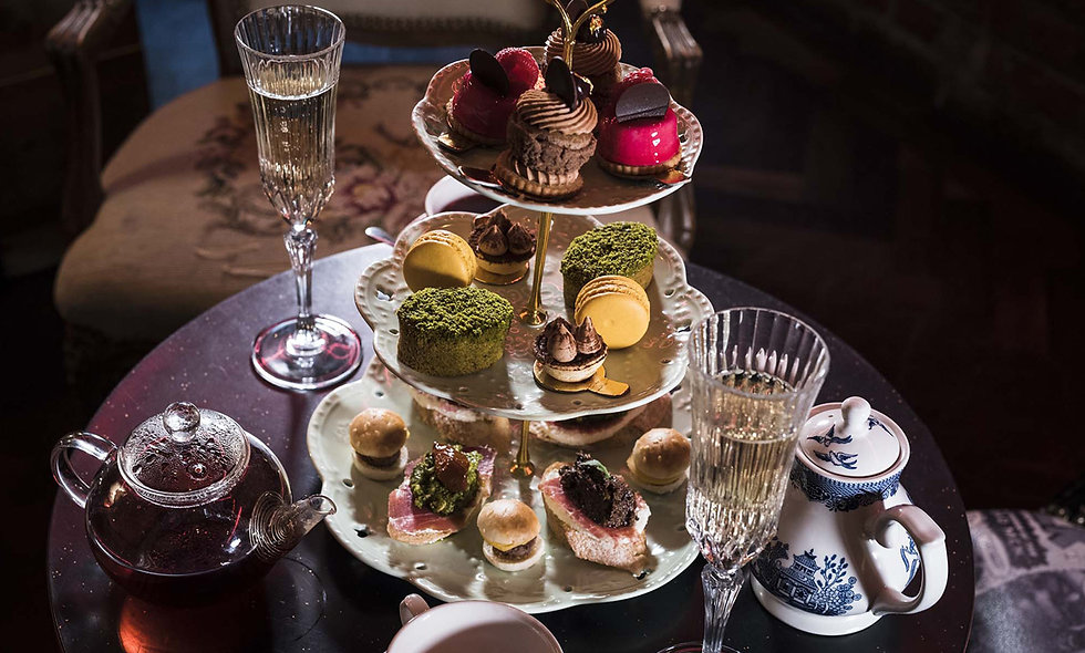 Tapas Style Afternoon Tea with Prosecco for Two at