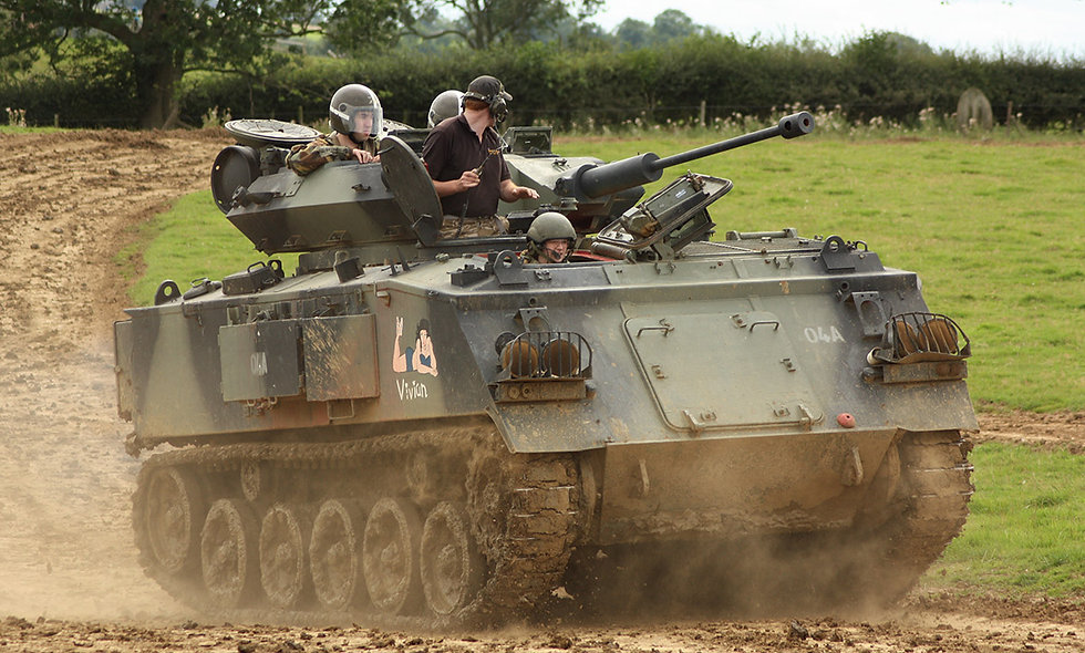Tank Driving Thrill