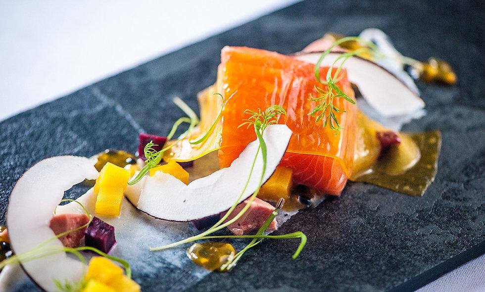 Michelin Star Seven Course Tasting Menu for Two at L'Ortolan